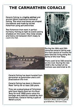 CARMARTHEN CORACLE