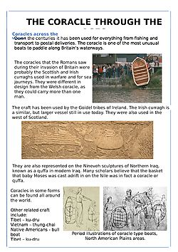 CORACLE THROUGH THE AGES