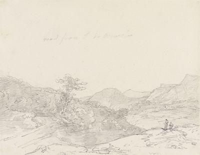 Between Llangollen and Oswestry