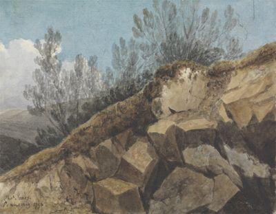 Study of Rocks, near Pencerrig, Wales