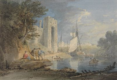 View at Caernarvon, Wales