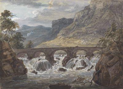 Pont-y-Pier near Llanroost, Denbighshire