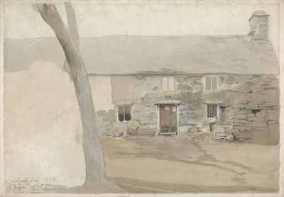 Cottages at Llanllyfni, North Wales