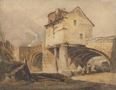 The Monnow Bridge, Monmouthshire