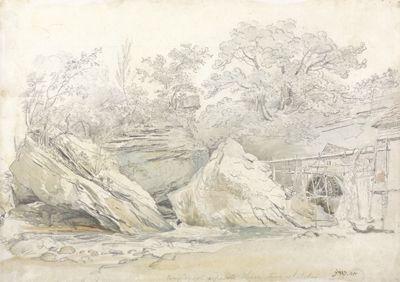 Aberdulais Mill, Glamorganshire