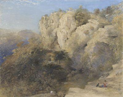 Rocky Landscape in Wales