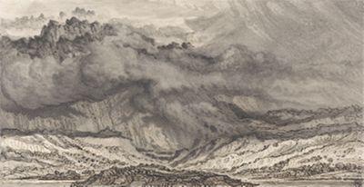 Snowdon, an Approaching Storm