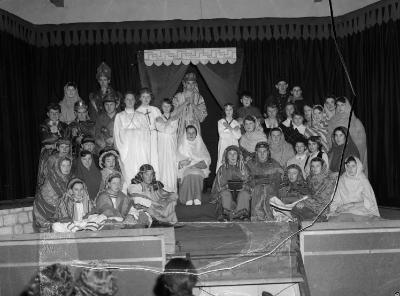 Penygroes High School's Christmas Pageant