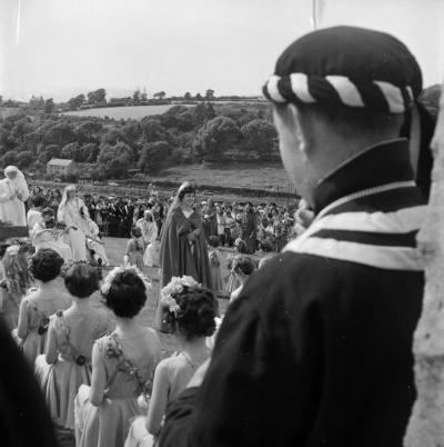 Cyhoeddi Eisteddfod Genedlaethol 1962, Llanelli...
