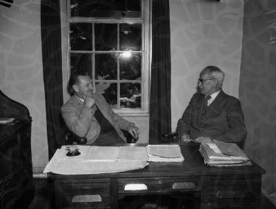 Wythnos y Glas yng Ngholeg Normal, Bangor, 1958