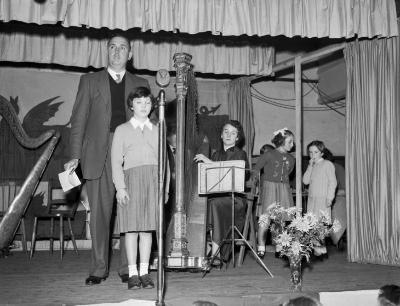 Gwyl Gerdd Dant Trawsfynydd, 1957