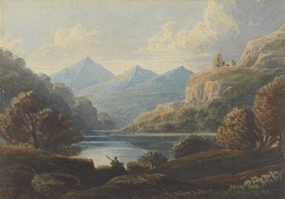 Landscape Composition, Dolbadern