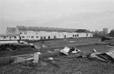 Pafiliwn Eisteddfod Genedlaethol Bangor 1971, a...