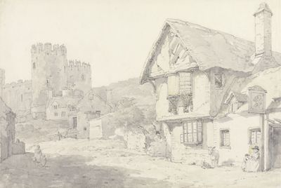 Conway, North Wales: The Castle and the Old...