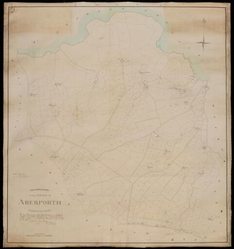 Second class map of the parish of Aberporth,...
