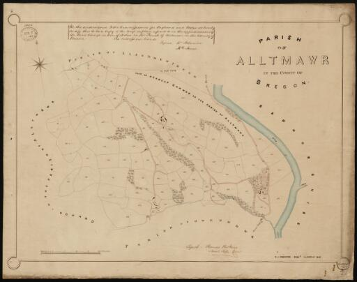 Plan of Alltmawr in the County of Brecon