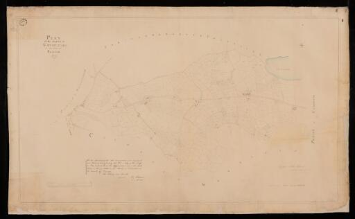 Plan of the parish of Cathedin in the County of...
