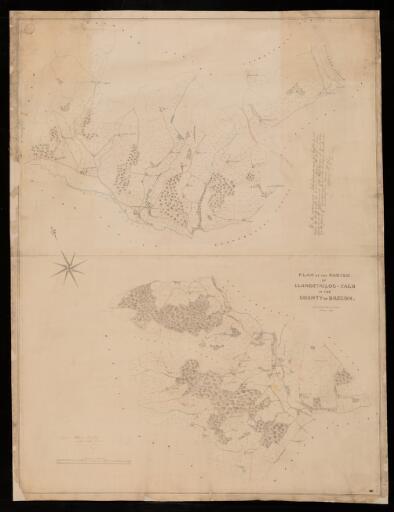 Plan of the parish of Llandefailog-fach in the...