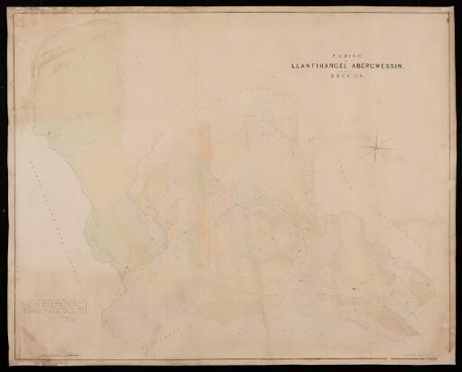 Parish of Llanfihangel Abergwessin in the...