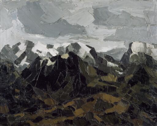 Snow on the mountains, Eryri