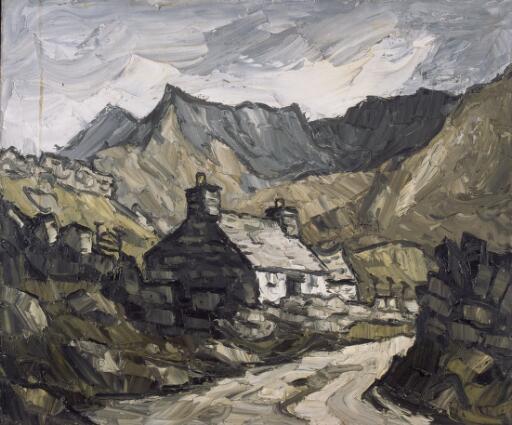 Roadside cottage, Eryri