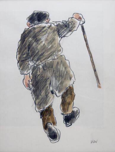 Farmer with a stick vii