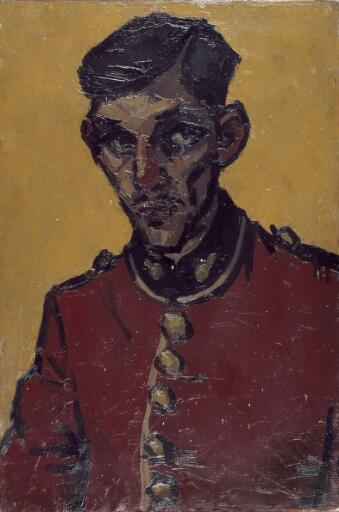 An officer of the Royal Welch Fusiliers