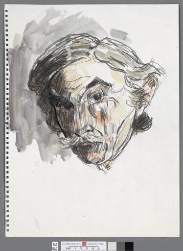 Self Portrait Head, looking forward