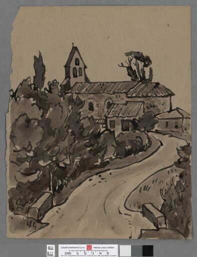 Church in the Dordogne