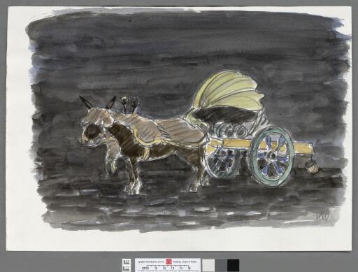 Mule Cart Rome