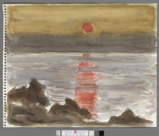 Sunset Barcloddiad y Gawres