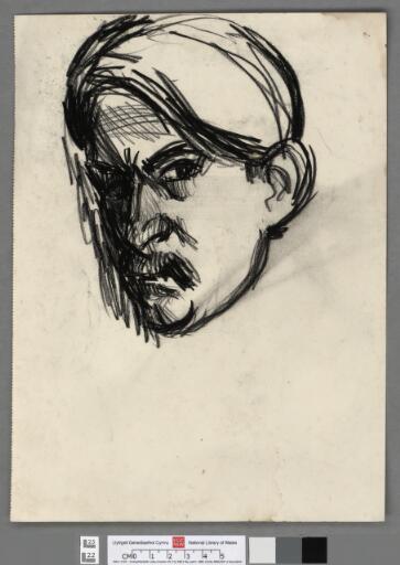Crayon Self portrait 1