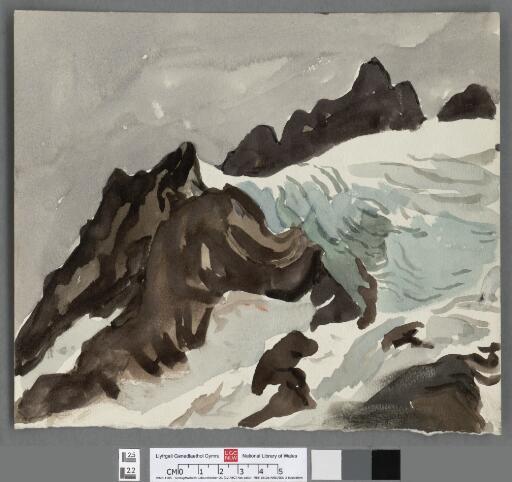 Glacier above Ushuaia, Tierra del Fuego