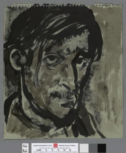Self portrait, head & shoulders