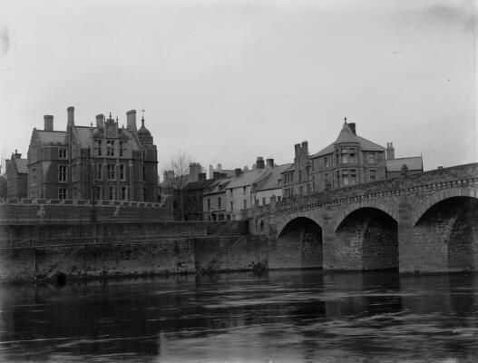Grammar School & Wye Bridge, Monmouth