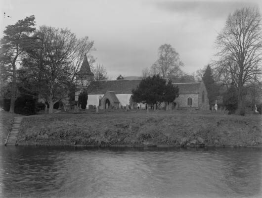 Dixton Church on the Wye Monmouth ca.1905