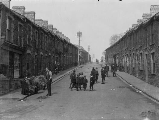 School Street, Elliot's Town ca.1905