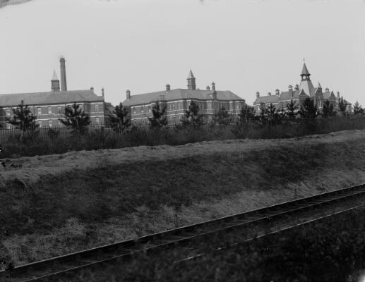 Lunatic Asylum, Caerleon Rd, Newport ca.1905