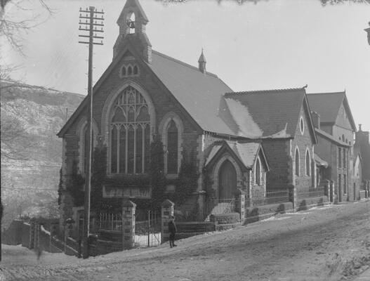 Capel Methodistiaid Wesleaidd, Trerhondda, y...