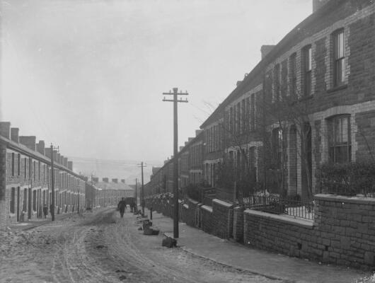 North Street Looking South, Ferndale, Rhondda