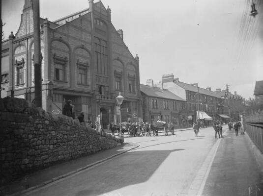 New Public Hall and Church Street, Ebbw Vale