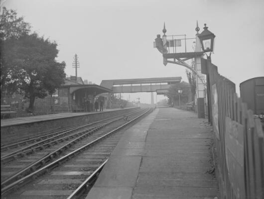 Railway Station, Pontnewydd