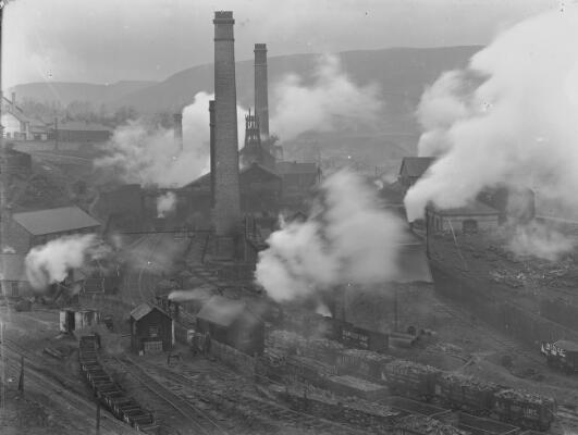 Cymmer Colliery, Porth, Rhondda Valley