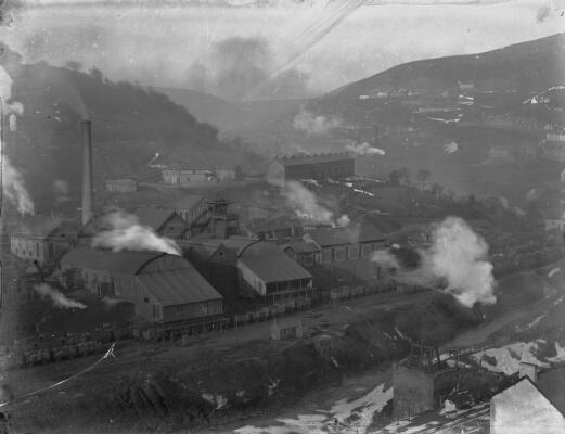 Lancasters Colliery, Six Bells, Abertillery
