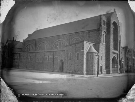St Mary of the Angels Church, Cardiff in 1905