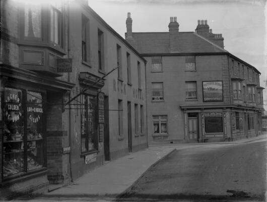 John Street by Station, Porthcawl