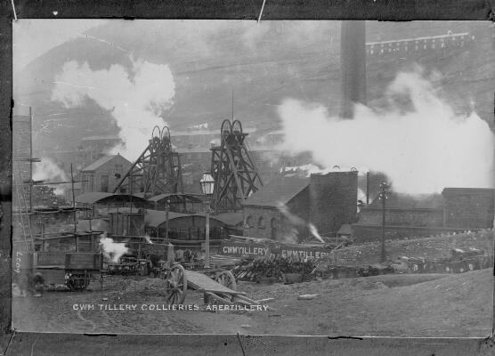 Cwm Tillery Collieries, Abertillery