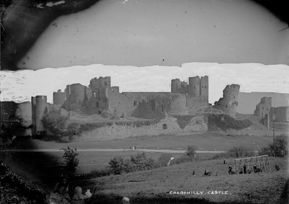 Caerphilly Castle view