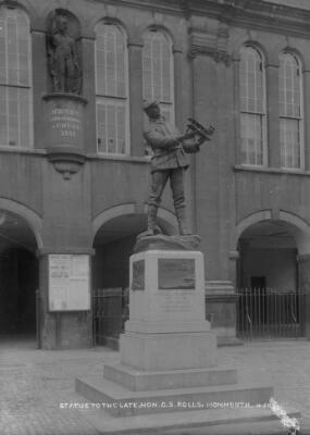 Statue to the late Honourable G. S. Rolls,...