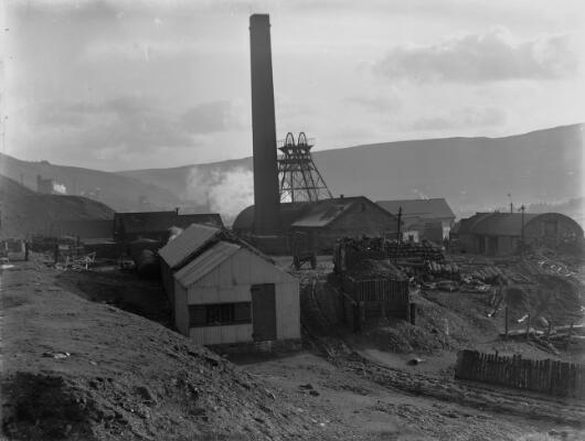 Tynybedw Colliery, Pentre, Rhondda